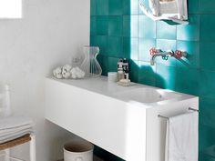 #Baño de #estilo #mediterráneo