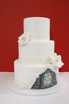 Beautiful with an unexpected twist - just what i want in a cake!