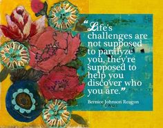 Life challenges quote via bravegirlsclub.com