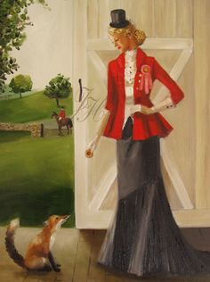 Janet Hill. Mildred caught the Fox