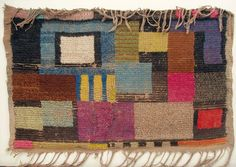 st, 1921. Ida Kerkovius (1879 - 1970). Discípula de Klee. Traslación de sus formas en fieltro.