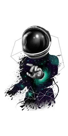 Astronaut warping in space. Galaxy Wallpaper, Cool Wallpaper, Astronaut Wallpaper, Artistic Wallpaper, Space Illustration, Dope Art, Aesthetic Wallpapers, Picsart, Amazing Art