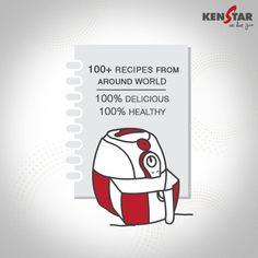 Recipe Book Of Kenstar Oxyfryer