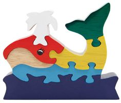 Whale puzzle...fair trade co