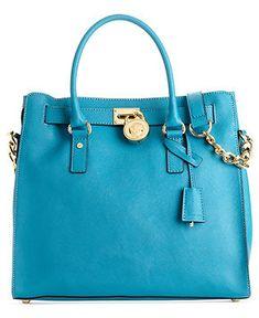 79dd15565584 MICHAEL Michael Kors Hamilton Saffiano Leather Tote Handbags   Accessories  - Macy s