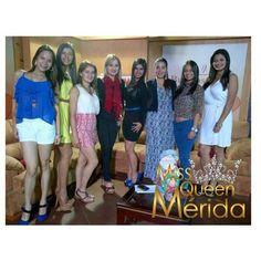HOY las candidatas a Miss Queen Merida junto a su directora y hasta mañana Miss Queen Merida Yoneida Briceño dando entrevista en la TAM. Programa (buenos dias). Usted podrá disfrutarlo el día de mañana a las 7 y 30 am. Ya a pocos horas de conocer quién será Miss Queen Merida rumbo a Miss Queen Venezuela 2015 #MissQueenMerida #merida #Miss #Misses #MissMerida #MissQueenVenezuela #APasosDeMiss