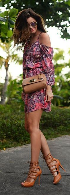 Printed Inspiration Romper - Total Street Style Looks And Fashion Outfit Ideas