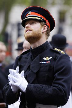 The Duke of Edinburgh And Prince Harry Visit The Field Of Remembrance at Westminster Abbey on November 2015 in London, England.