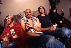 During Nirvana's last tour, a second guitarist by the name of Pat Smear joined the band so Kurt could focus more on singing and less on lead guitar. Smear performed on MTV's Unplugged with the band. He is still an active musician in underground music today. ~ songfacts.com