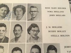 Original 1953 Buddy Holly High School yearbook! 1953 might be his hardest yearbook to find and also his first yearbook he is in. Founding member of The Crickets! In very nice shape, check pics.