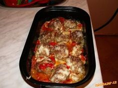 Czech Recipes, Ethnic Recipes, Mince Dishes, Pork Mince, Ground Meat Recipes, Beef Steak, Lasagna, Snack Recipes, Food And Drink
