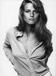 A young Charlotte Rampling...and she's still as beautiful today