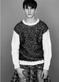 James Long knitwear designed for Topman