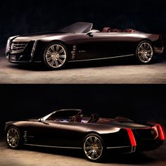 This was one of caddy's concept cars. Gorgeous beast....
