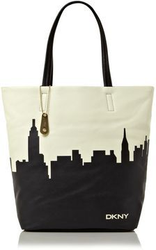 Shop for Skyline print tote bag by DKNY at ShopStyle. Bling Bling, Dkny Bags, Printed Tote Bags, Leather Handbags, Cart, Satchel, Skyline, Textiles, Passion
