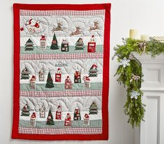 Let the Christmas countdown commence! Have your child countdown the number of days before Christmas with our vibrant Quilted Advent Calendar. Designed with sweet holiday characters, this calendar hides little treats inside so that your little one … Christmas Countdown, Christmas Holidays, Christmas Decorations, Holiday Decor, Christmas Ornament, Holiday Ideas, Christmas Ideas, Christmas Crafts, Advent For Kids