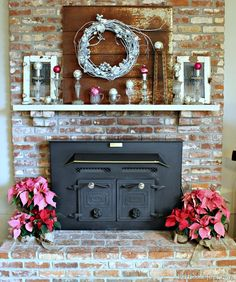 rusty metal background for mantel hangings
