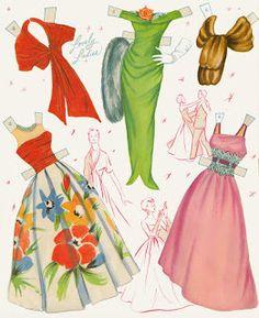Miss Missy Paper Dolls: whitman