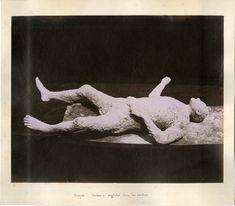 Italia, Pompéi, impronte umane    #Europe #Italia #Pompéi_Pompei