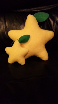 Kingdom Hearts Paopu Fruit Plushie by DreamColorCrafts on Etsy