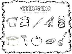 apple themed printables - Pinned by @PediaStaff – Please visit http://ht.ly/63sNt for all (hundreds of) our pediatric therapy pins