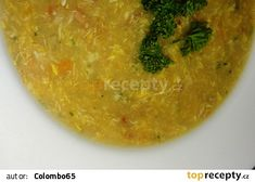 Slaninovo-krupicová polévka
