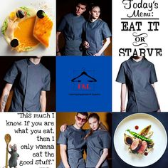 F&L Catering Suppliers where the chef is always right. The number one place for unique chef attire with attitude. High quality and delivered straight to your door. Long sleeve, short sleeve chef jacket. Mens, Womens, & Unisex Chef jackets, Chef trousers, chef hats & aprons.New fashion chef jackets for best chefs in 2020. Summer Sale Up To 30%Off Sgin Up Today Get 20% Off Chef Hats, Letter To Yourself, Catering Equipment, Best Chef, How To Get Rich, Summer Sale, Aprons, Chefs, Chef Jackets