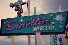 Satellite Motel -- Doo Wop Preservation League's Sign Garden. Wildwood, NJ