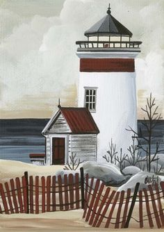 Lighthouse A Fine Art Print Lighthouse Drawing, Lighthouse Art, Lighthouse Pictures, Images Vintage, Pictures To Paint, Beach Art, Art Techniques, Painted Rocks, Landscape Paintings