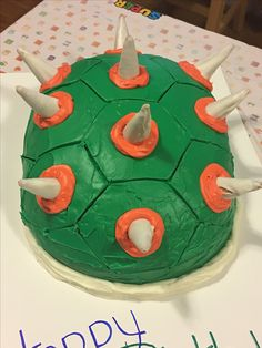 Bowser Jr Cake Cakes I Have Made Pinterest Bowser Cake And - Bowser birthday cake