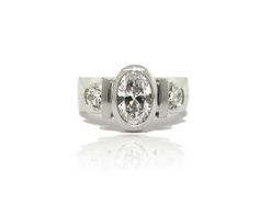 custom made ring- hand made Francis Jewellers