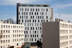 © 11h45 / Résidence Sociale, Bobigny (93) - Architectes Urbanistes Associés Paul Chemetov