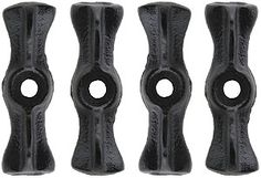 Set of 4 Long Cast-Iron Utility Turn Buttons | House of Antique Hardware