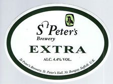 St. Peter's Brewery - St. Peter's Extra 4,4% REAL ALE hana