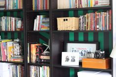 PANYL Stripe pack for IKEA Billy bookcase.