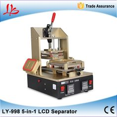(304.00$)  Watch now  - Middle Frame Separator Machine + Vacuum LCD Separator + Glue Remover + Frame Laminator + Preheater