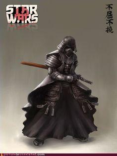 Samurai Vader.