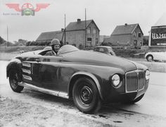 OG | 1952 Rover T1 'Jet 1' - Facelifted | Gas turbine powered prototype based on Rover P4.