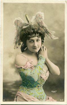 Actress Miss L' Argent Walery