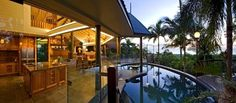Elegant pool with breathtaking views over the Coral Sea - Sapphire Ridge -  - rentals Queensland