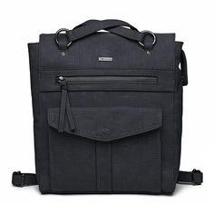 Tamaris Damen Tasche Khema Shiny Crossbody Bag M light grey