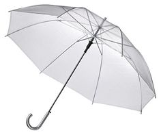 "46"" Clear Auto Open Umbrellas - Pack of 10 - Perfect for Weddings and Events EZbrella, http://www.amazon.ca/dp/B00LU1R1WS/ref=cm_sw_r_pi_dp_x_1dGkzbF7JTTQ5"
