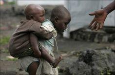 DR Congo orphans