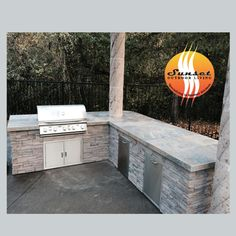 We custom build for any grill or any area!  Call today for your custom quote  503-831-4677 Sunset Outdoor Living, LLC.
