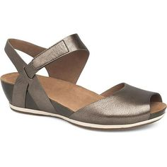 Women's Vera by Dansko Comfortable Jeans, Dansko Shoes, Women's Shoes, Casual Boots, Cheap Shoes, Ankle Straps, Summer Shoes, Wedge Heels, Peep Toe