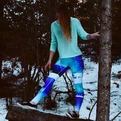 Arctic Sky - LIMITED RELEASE - Leggings - XL