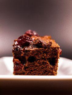 Schoko Kirsch Kuchen, saftig und schnell zu backen