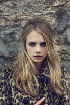 """She was """"spotted"""" by Sarah Doukas, who also scouted Kate Moss. 