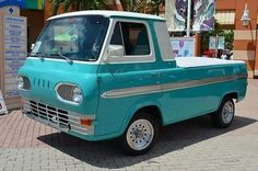 1963 Ford Econoline pickup ... always liked the style and shape of these.