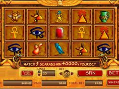 Scarab Treasure Slot - Play the Online Version for Free